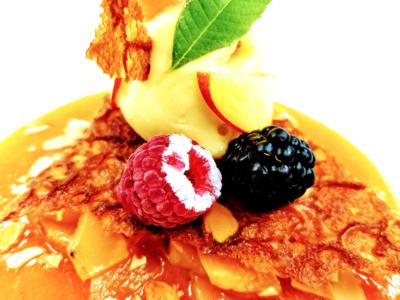 velours d'abricot le brun restaurant